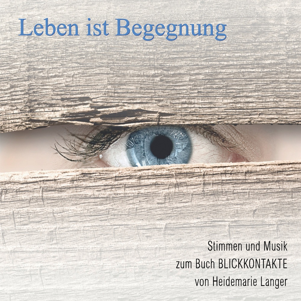 Leben ist Begegnung - Cover